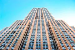 положение США york manhattan империи здания новое стоковое изображение rf
