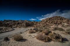 положение утеса парка каньона красное Стоковая Фотография