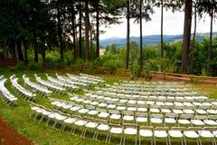 Положение церемонии места свадьбы Стоковые Изображения RF