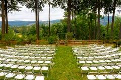 Положение церемонии места свадьбы Стоковые Фото