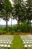Положение церемонии места свадьбы Стоковая Фотография