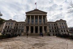 положение Georgia капитолия здания atlanta Стоковая Фотография