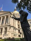 положение Georgia капитолия Стоковые Изображения RF