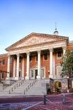 положение maryland дома капитолия здания annapolis стоковые изображения