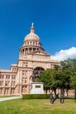 положение texas капитолия здания austin Стоковое фото RF