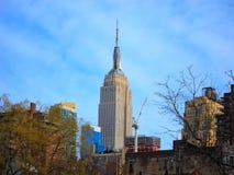 положение york manhattan империи города здания новое Стоковая Фотография RF