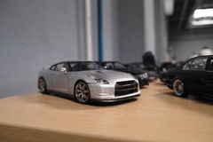 положения автомобиля различные миниатюрные Стоковые Фотографии RF