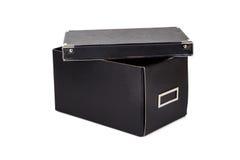 положите изолированное открытое в коробку Стоковое Изображение RF