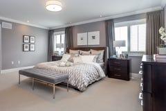 Положите комнату в постель Стоковое Изображение