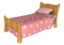 положите пинк в постель Стоковые Изображения RF