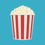 положите попкорн в мешки Стоковое Фото