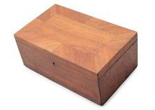 положите старое деревянное в коробку Стоковое фото RF