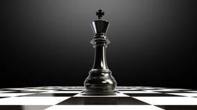 Положите шахматную фигуру на доску, кончая короля бесплатная иллюстрация
