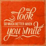 Положительная вдохновляющая цитата жизни Стоковые Изображения