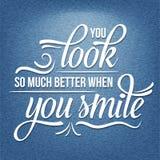 Положительная вдохновляющая цитата жизни Стоковое Изображение RF