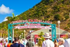 Положительный знак St. Maarten Стоковые Фотографии RF