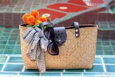 положите handmade в мешки стоковые фотографии rf