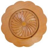 Поддонник сделанный от древесины на изолированной предпосылке Стоковое Изображение