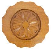 Поддонник сделанный от древесины на изолированной предпосылке Стоковые Фото