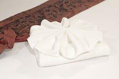 полотенца ванны белые Стоковые Фотографии RF