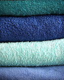 Полотенца ванны Стоковые Фото