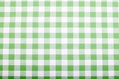 Полотенца кухни ткани предпосылки checkered Стоковые Фото