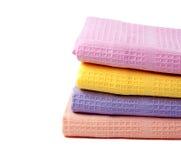 4 полотенца кухни Стоковые Фото