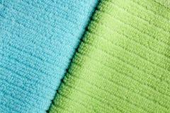 2 полотенца Terry цвета Стоковое фото RF