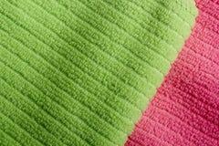 2 полотенца Terry цвета Стоковая Фотография