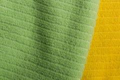 2 полотенца Terry цвета Стоковое Фото