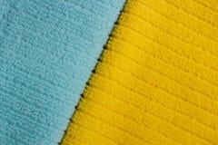 2 полотенца Terry цвета Стоковые Фотографии RF