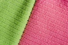2 полотенца Terry цвета Стоковая Фотография RF