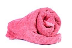 Полотенце ванной комнаты Стоковая Фотография