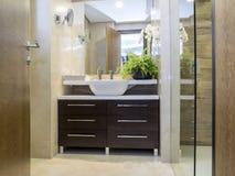 полотенце интерьера шара ванной комнаты Стоковая Фотография RF