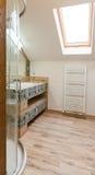 полотенце интерьера шара ванной комнаты Стоковая Фотография