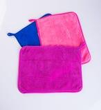 полотенце или полотенце кухни на предпосылке Стоковая Фотография
