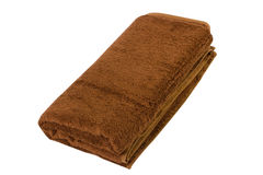 Полотенце на белизне Стоковое Фото