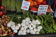 Под открытым небом рынок Стоковые Фото