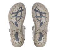 Подошва ботинка изолированная на белой предпосылке. Стоковые Фотографии RF