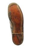 Подошва ботинка с стальным старым ботинком Стоковые Изображения RF