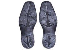Подошва ботинка людей Стоковые Фотографии RF