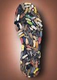 Подошва ботинка Стоковое фото RF