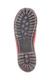 Подошвы ботинка изолированные на белой предпосылке Стоковое Изображение