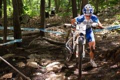 По пересеченной местности 2013 кубка мира UCI, Mont Ste-Энн, b Стоковое фото RF
