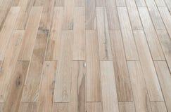 Пол перспективы деревянный, изображение в мягкий фокусировать, винтажный тон стоковые изображения rf