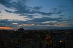 Под покрытием ночи Стоковое Изображение RF