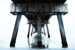 Под пристанью Стоковое Изображение RF