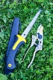 Подрезая ножницы стоковое фото rf