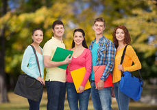 подростки группы ся Стоковая Фотография