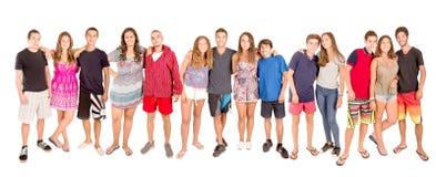 подростки стоковое изображение
